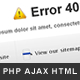 Powerful Errors - PHP/Ajax error template - ThemeForest Item for Sale
