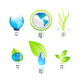 Environmental power icons - GraphicRiver Item for Sale