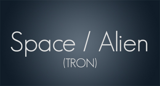 Space Alien TRON