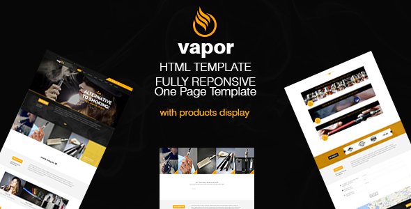 Vapor - eCigarettes Vaporizers & E-Liquid Template