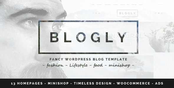Download Blogly - Fancy WordPress Blog Theme nulled download