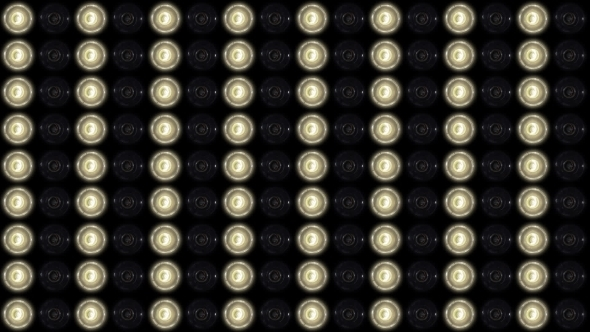 VideoHive Panel Of Very Bright Stage Lights 14402490