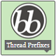 bbPress Thread Prefixes