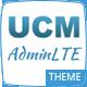 UCM Theme: AdminLTE CRM