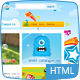 Kids Toys - 9 Page HTML Site