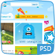 Kids Toys - PSD Template