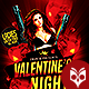 Valentines Night Conquer the Queen Flyer
