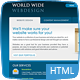 World Wide Webdesign - 6 Page HTML