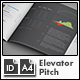 Quick Business Plan Template / Elevator Pitch - A4 Landscape