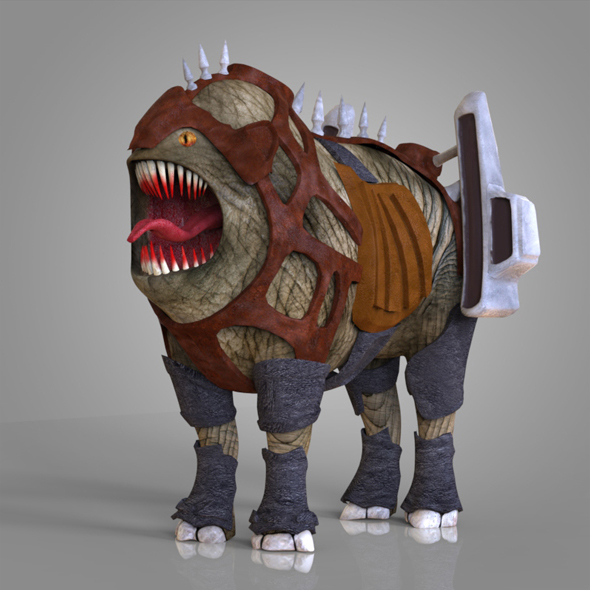 Monster Dog - 3DOcean Item for Sale