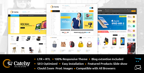 Catchy - Multipurpose OpenCart Theme
