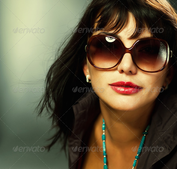 Sexy Young Woman portrait - Stock Photo - Images