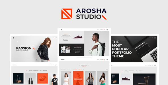 Arosha - Creative Minimal WordPress Theme