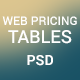 Website Pricing Tables
