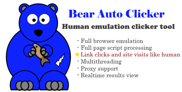 Bear Auto Clicker - CodeCanyon Item for Sale