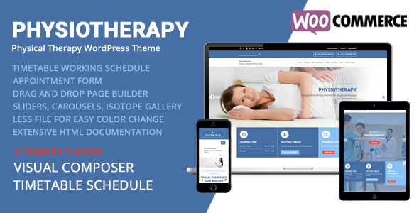 28 - Physiotherapy - Physical Therapy WordPress Theme