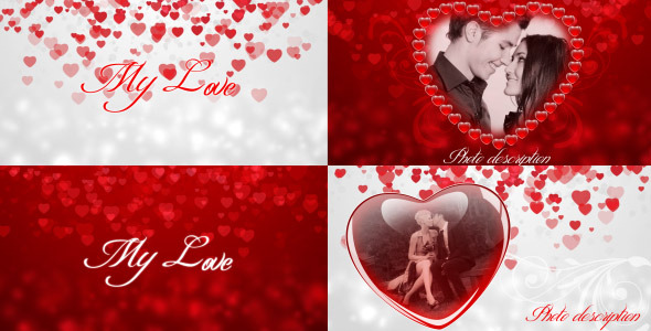 After Effects Project - VideoHive My love 1441430