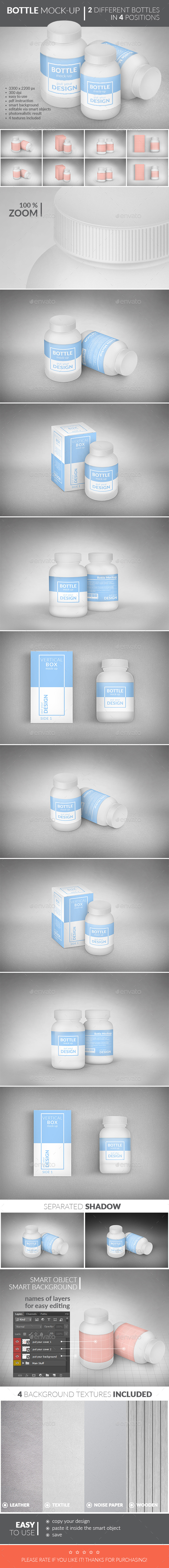 Bottle Package Mock-Up