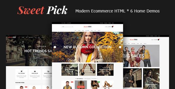 Sweet Pick | Modern E-commerce HTML Template