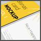 Business  card Mock up vol - 1
