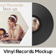 Vinyl Record Mockup
