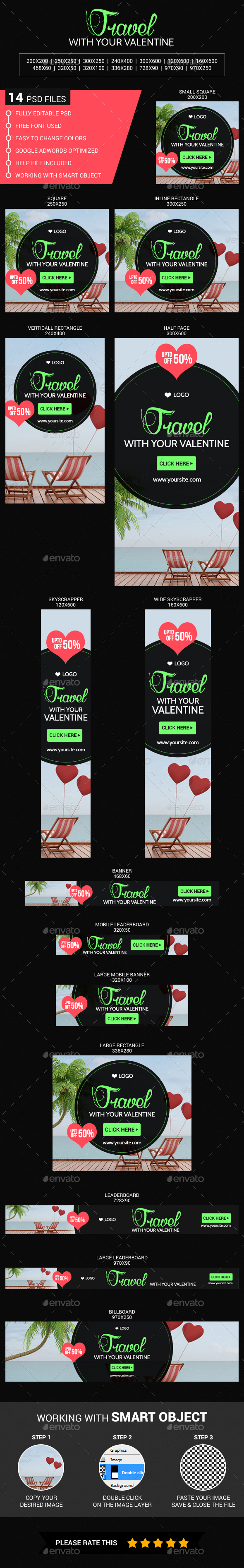 Travel with your valentine
