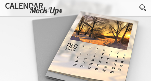 Calendar Mock-Ups