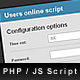 PHP Users online counter