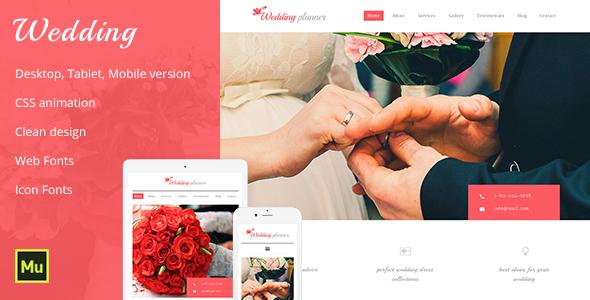 Wedding -Wedding Planner & Wedding Organizer by MaximusTheme ...