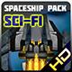 Spaceship pack 20