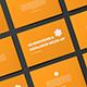 A5 Horizontal Catalogue / Brochure Mock-Up
