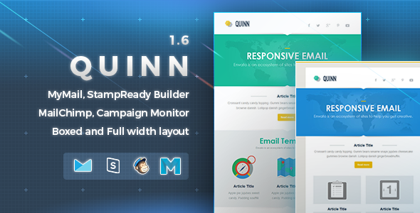 Quinn | Responsive Email Template