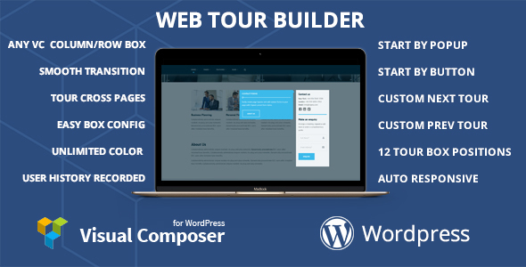 Web Tour builder for Visual Composer Wordpress