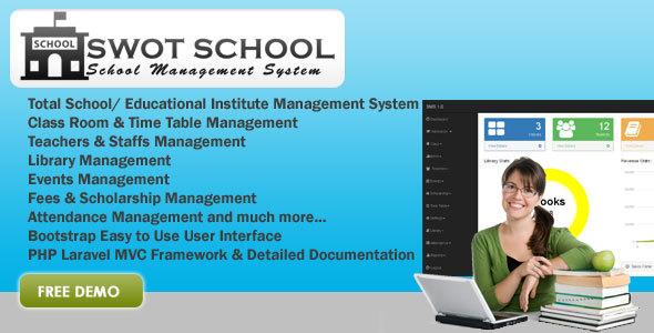 Download SWOT SCHOOL- School Management Software nulled download