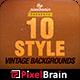10 Style Vintage Backgrounds Vol. 2