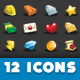 Simulation Game - Resources Icon Set