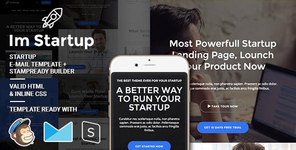 Im Startup - Responsive Email + StampReady Builder
