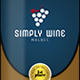 Simple Wine Label Templates 1