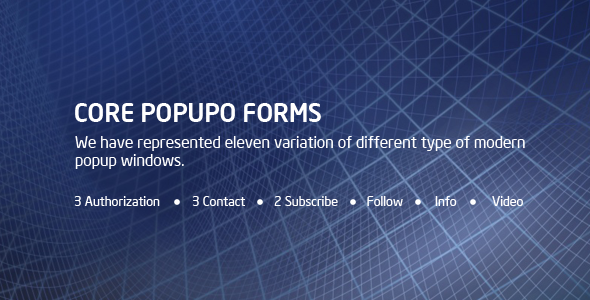 CORE POPUPO Forms (Forms) Download