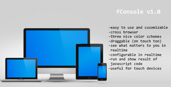 Javascript console – fConsole (Miscellaneous) Download