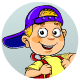 Cartoon Schoolboy Set
