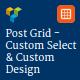 Visual Composer - Post - Custom Select & Custom Design