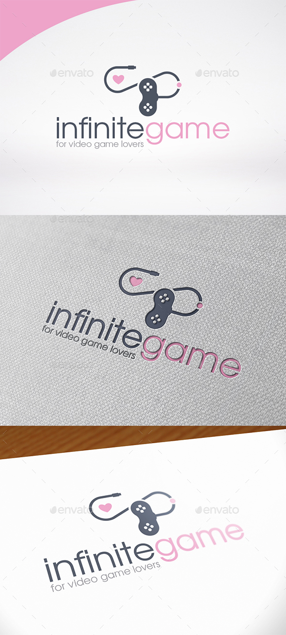Infinite Game Love Logo Template