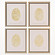 Charlotte Morgan Hand Painted Gold Fingerprints