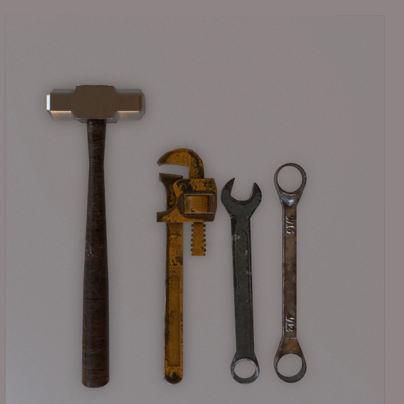 Tools - 3DOcean Item for Sale