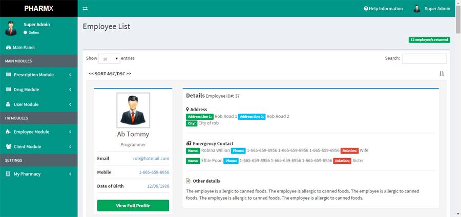 Pharmacy Database Management System Image Mag
