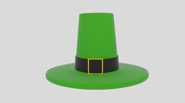 Leprechaun Hat - 3DOcean Item for Sale