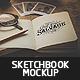 Sketch Book Mockup v.3