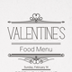 Valentine's Day Food Menu
