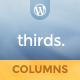 thirds. - 3 Column WordPress Theme